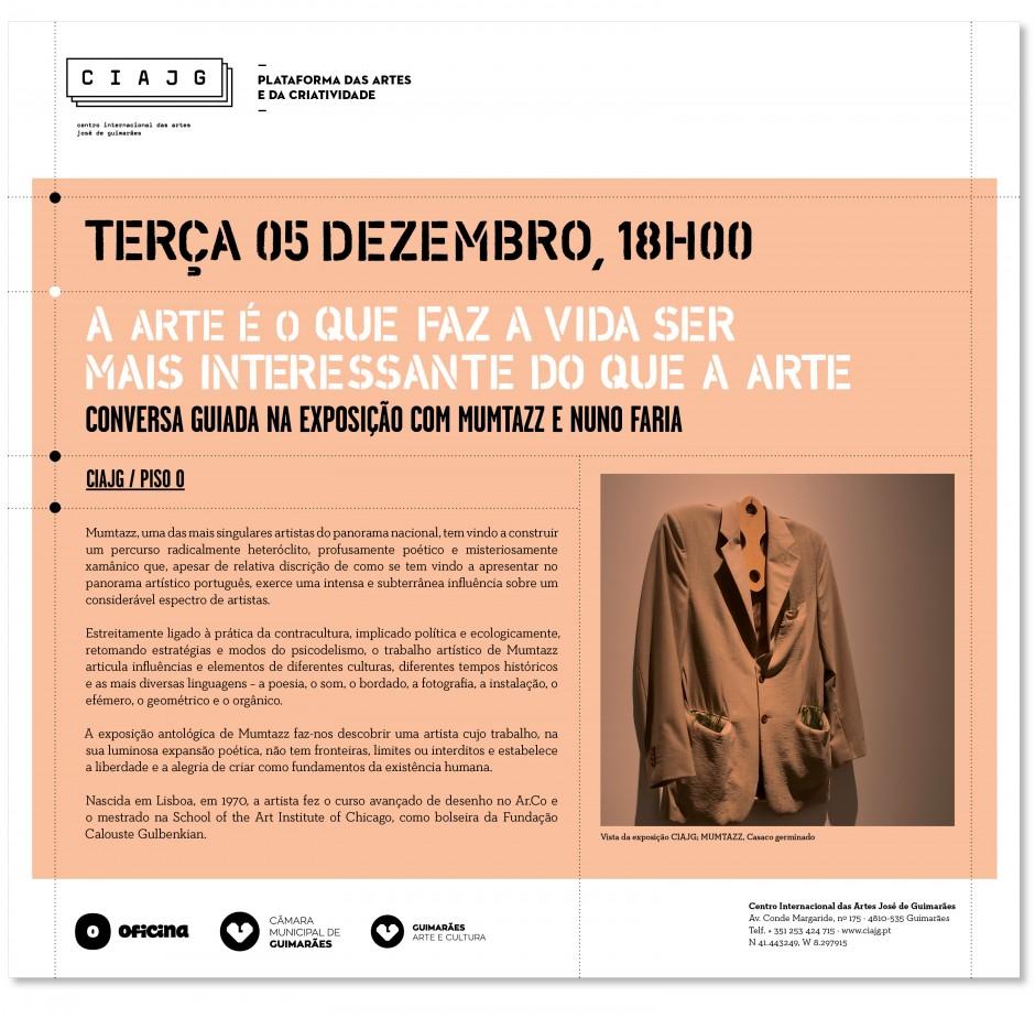 Conversa guiada na exposição com MUMTAZZ_05 dezembro